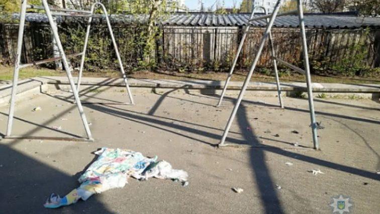 На спортмайданчику в Києві прогримів вибух