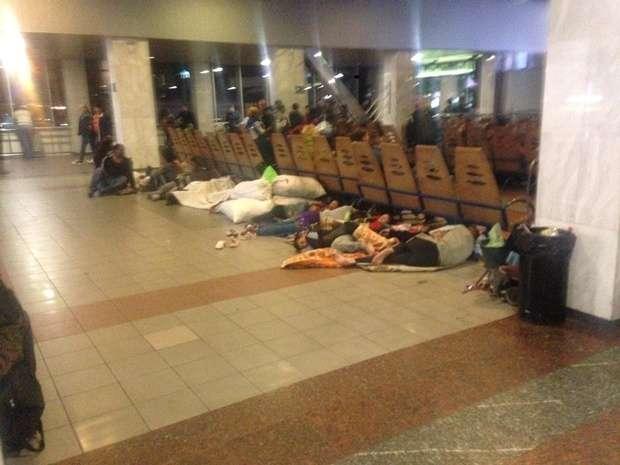 """""""Безсоння, блохи і нестерпний сморід"""": Столичний вокзал перетворили у справжній притон"""