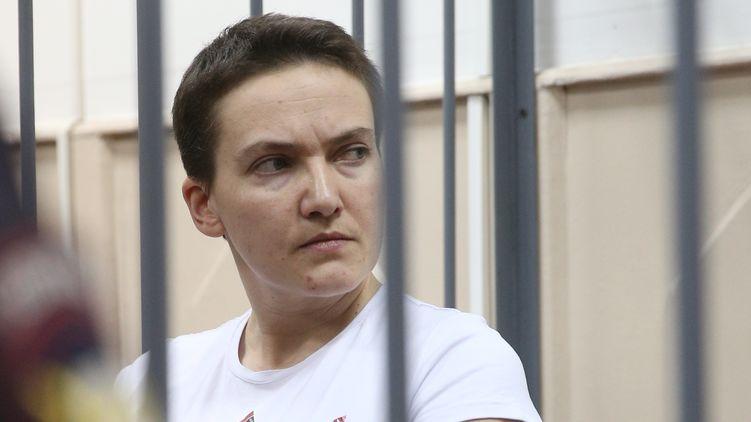З'явились перші фото голодуючої Савченко після проходження поліграфу
