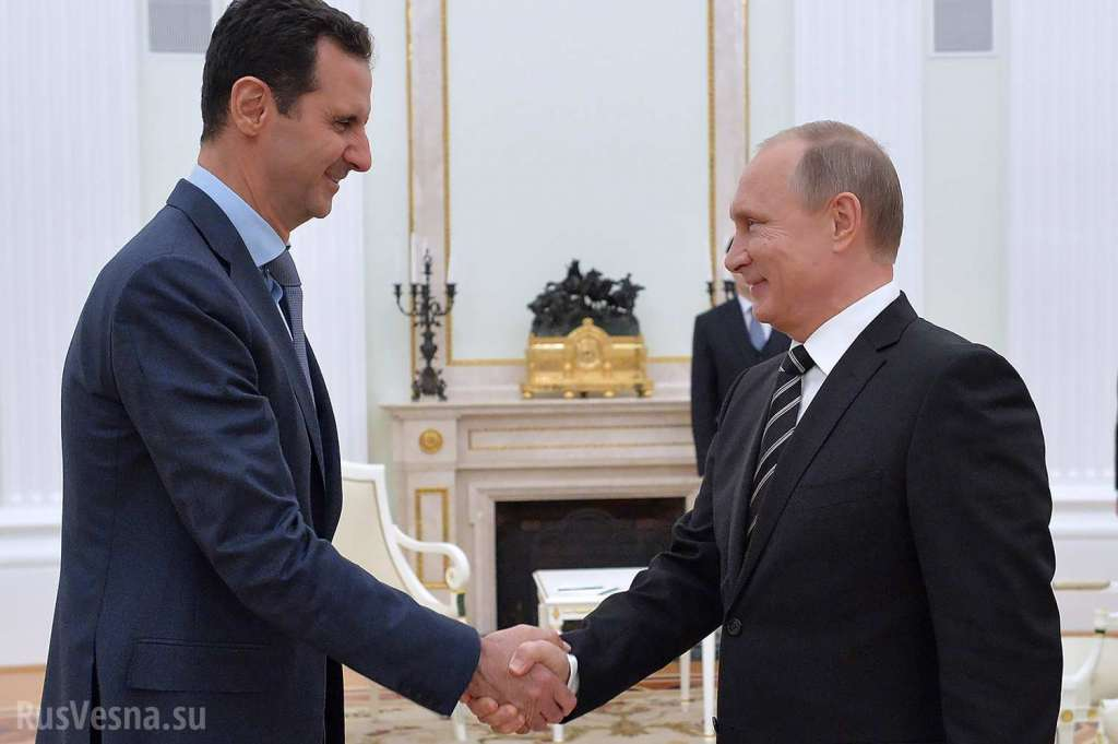 Путін пригрів дітей президента Сирії Башара Асада в анексованому Криму