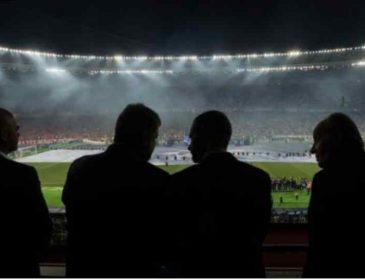 """""""У VIP-ложі НСК і у такій компанії"""": З ким президент Порошенко дивився фінал """"Ліги Чемпіонів"""""""