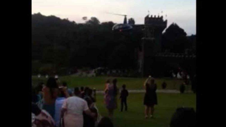"""""""Вона летіла на власну церемонію"""": Вертоліт з нареченою на борту впав і загорівся (Відео)"""