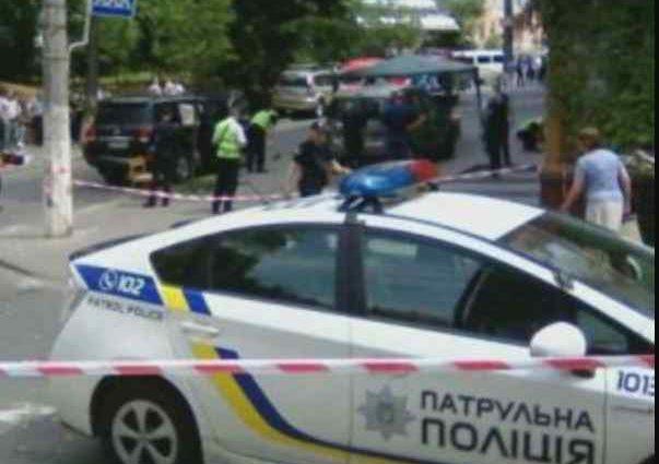 В столиці розстріляли авто відомого бізнесмена