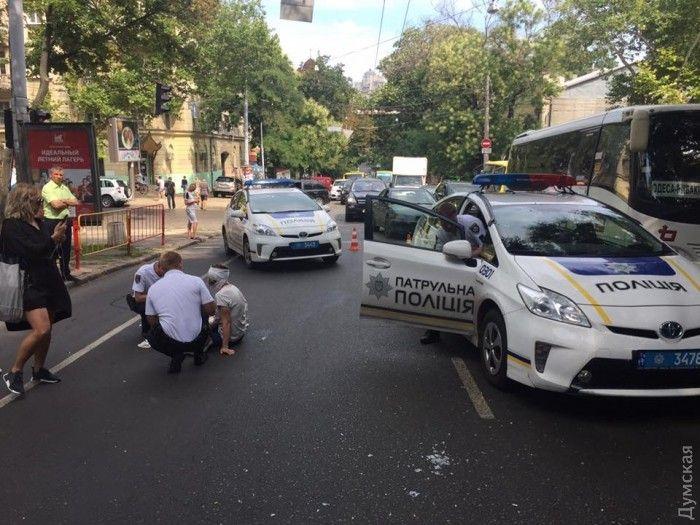 Вдруге за тиждень: У Львові поліцейський вчинив ДТП з пішоходом