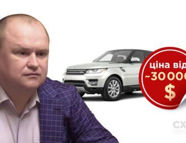 Перебуваючи під слідством: Заступник голови СБУ Демчина придбав спортивний Range Rover вартістю понад 30 тисяч доларів