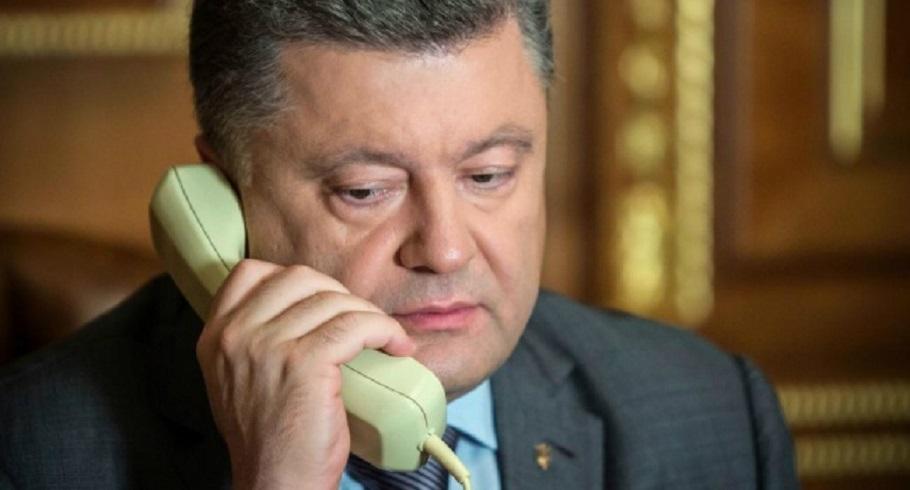 """""""Проінформував генерального секретаря…"""": Навіщо Порошенко телефонував генсеку НАТО"""