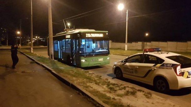 У Харкові розстріляли тролейбус