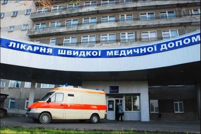 Історію хвороби поклав собі в штани: У львівській лікарні чоловік вистрибнув з 8 поверху