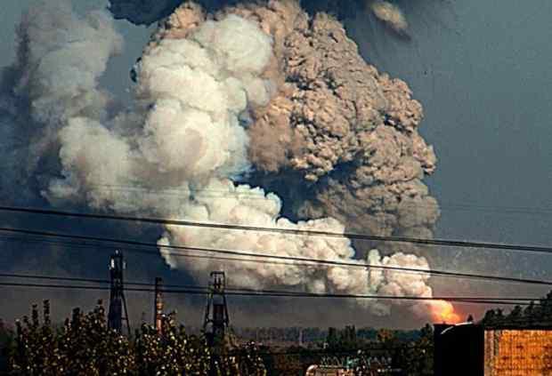 В Донецьку на базі відпочинку прогримів потужний вибух, є постраждалі