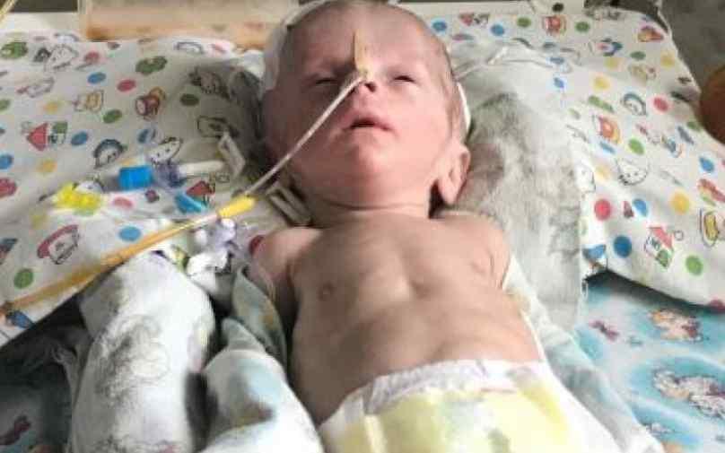 """""""Його життя щодня під загрозою"""": Вашої допомоги потребує маленький Костянтин, якому всього три місяці"""