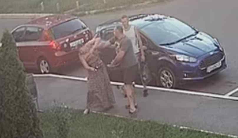 Жінка зі струсом мозку і побоями: очільник «УКРОПУ» жорстоко побив перехожу через зауваження