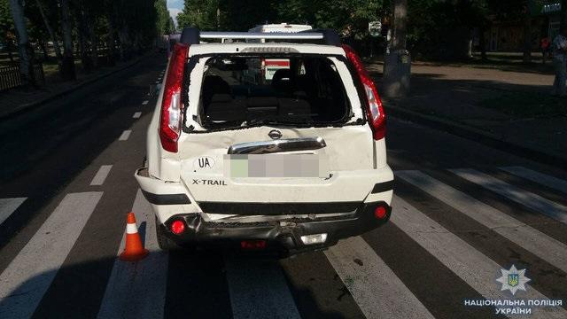 У Миколаєві маршрутка зіткнулась з автомобілем: багато постраждалих
