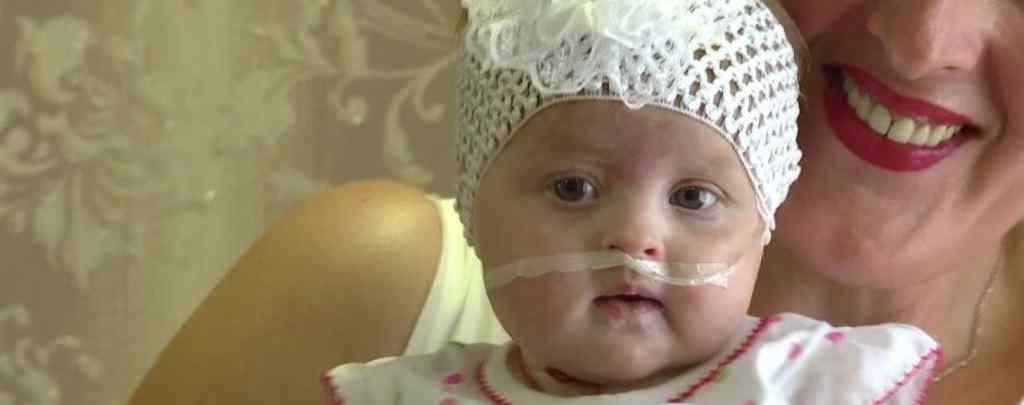 Їй лише 5 місяців: Маленька Євангелінка потребує вашої допомоги, щоб здолати важке захворювання