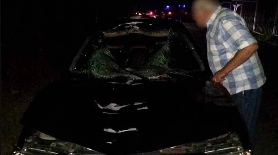 Смертельна ДТП: легковик на шаленій швидкості збив чоловіка, водій втік