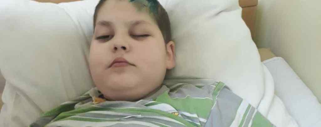 Важка недуга поставила його життя під загрозу: Ілля потребує вашої допомоги