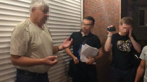 В Черкасах на гарячому спіймали впливового чиновника