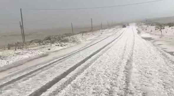 У сам розпал сезону в Туреччині випав сніг. Перші подробиці