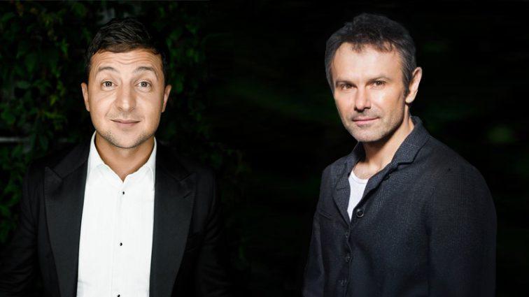 Вакарчук і Зеленський несподівано наблизилися до Тимошенко та Порошенка