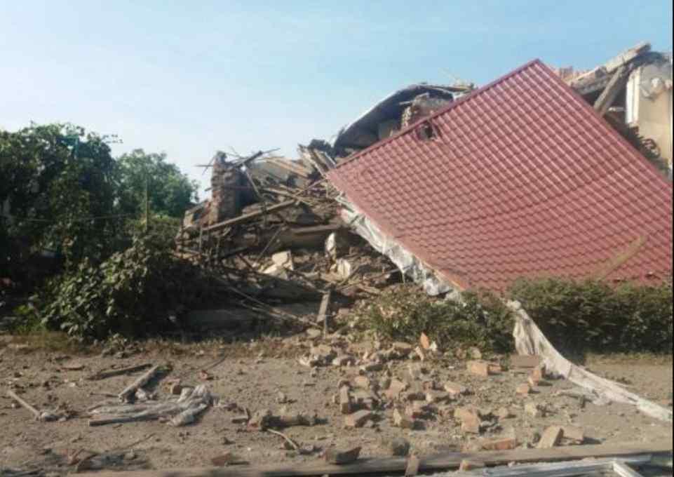 Зрівняв з землею: потужний вибух вщент розтрощив житловий будинок
