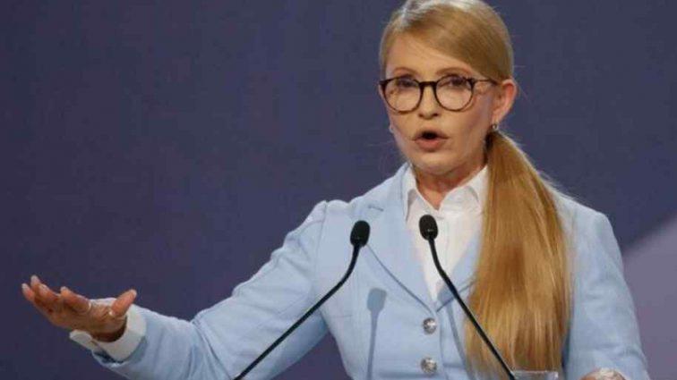 """""""На відміну від нього"""": Тимошенко розповіла, чим відрізняється від Порошенка"""
