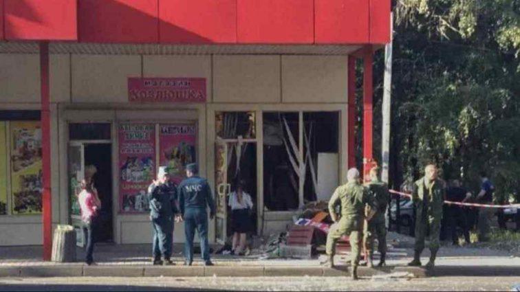 У Донецьку прогримів потужний вибух: невідомий підірвав гранату в магазині