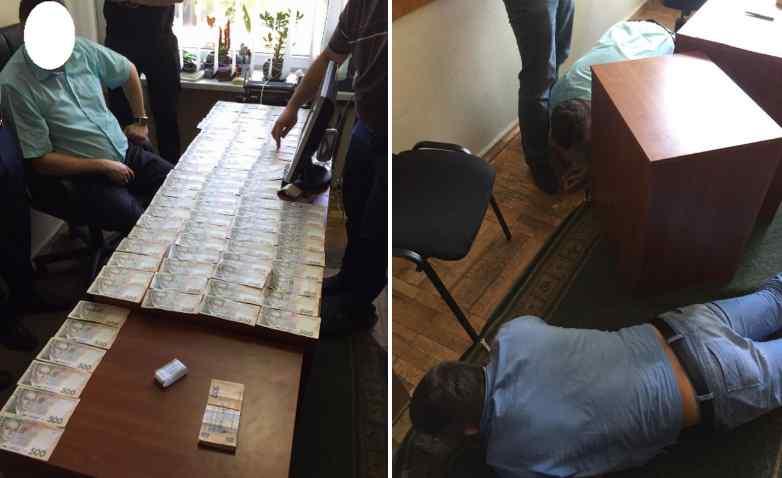 На хабарі 150 тис. грн затримали впливового чиновника