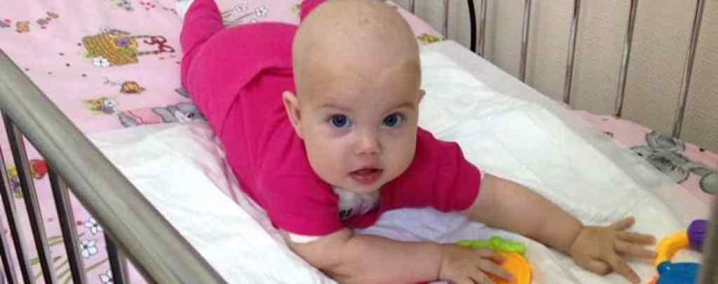 Їй лише 6 місяців, а важка хвороба поставила її життя під загрозу:  Маленька Марянка потребїує вашої допомоги