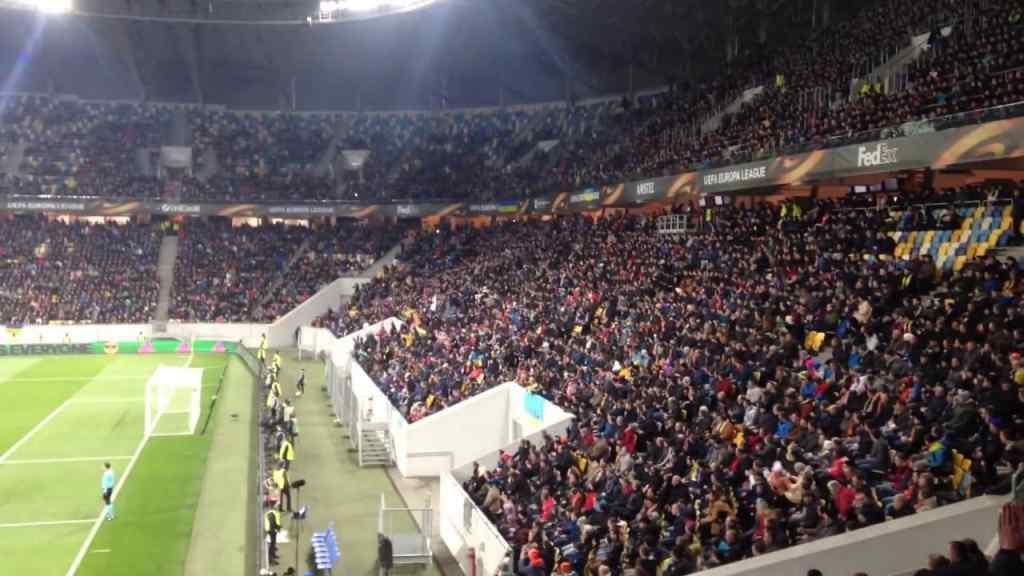 У Львові футбольні фанати влаштували проросійську провокацію, перші подробиці