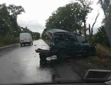 Знесло пів автомобіля: під Києвом сталася моторошна ДТП із маршруткою