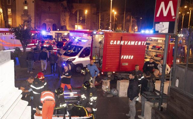 НП в римському метро: постраждали українці, перші подробиці