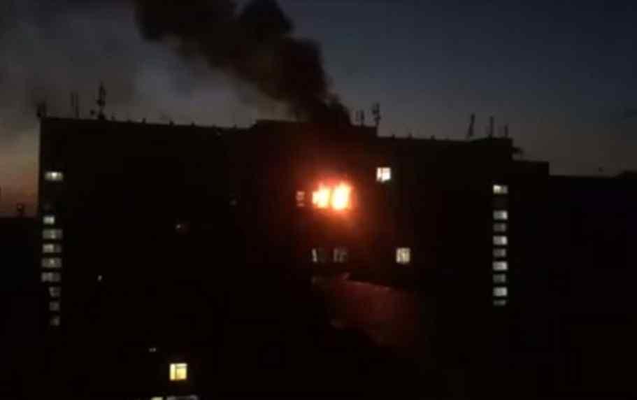 Горіла лабораторія: у Києві сталася пожежа в інституті