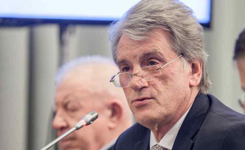 """""""Історичний процес"""": Ющенко відзначився новою емоційною заявою"""