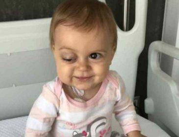 У дівчинки виявили пухлину: допоможіть врятувати життя крихітній Соні