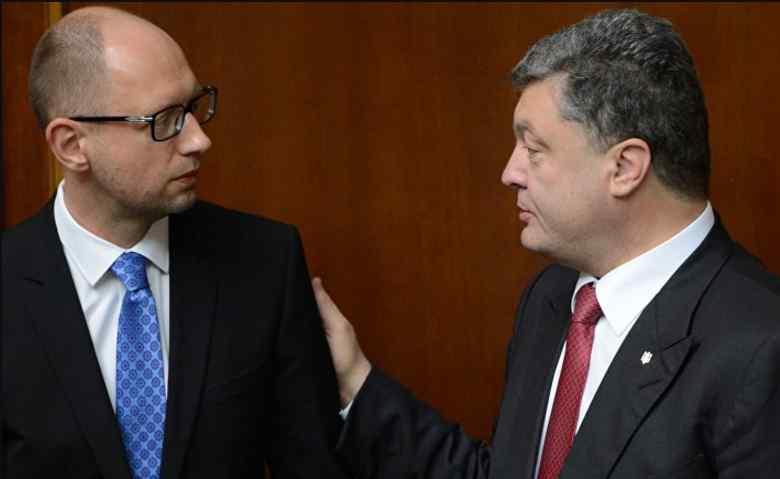 """""""Ти що, кампанію ведеш? """": Порошенко накинувся на Яценюка"""