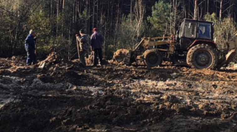 Кістки перемішані зі сміттям: на Львівщині виявили безліч рештків