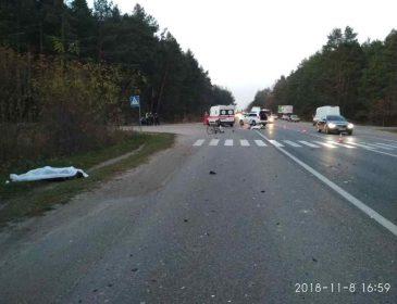 Моторошна ДТП на Львівщині: загинув мотоцикліст та велосипедист, перші подробиці