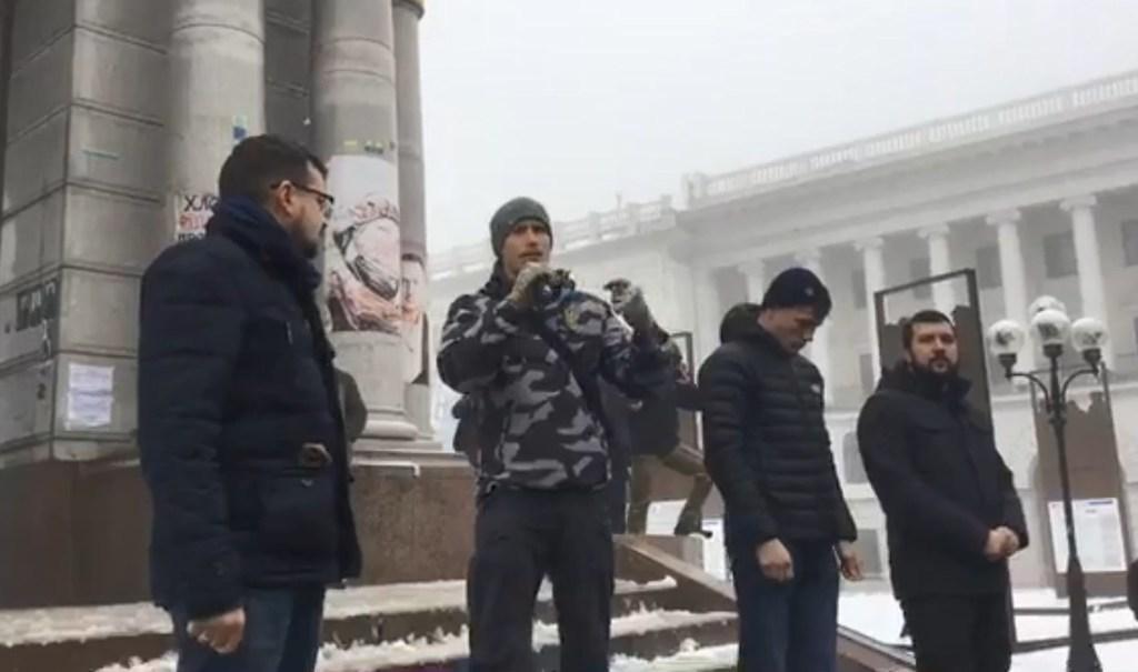 """""""Ми готові воювати!"""": У Києві на Майдані влаштували мітинг"""
