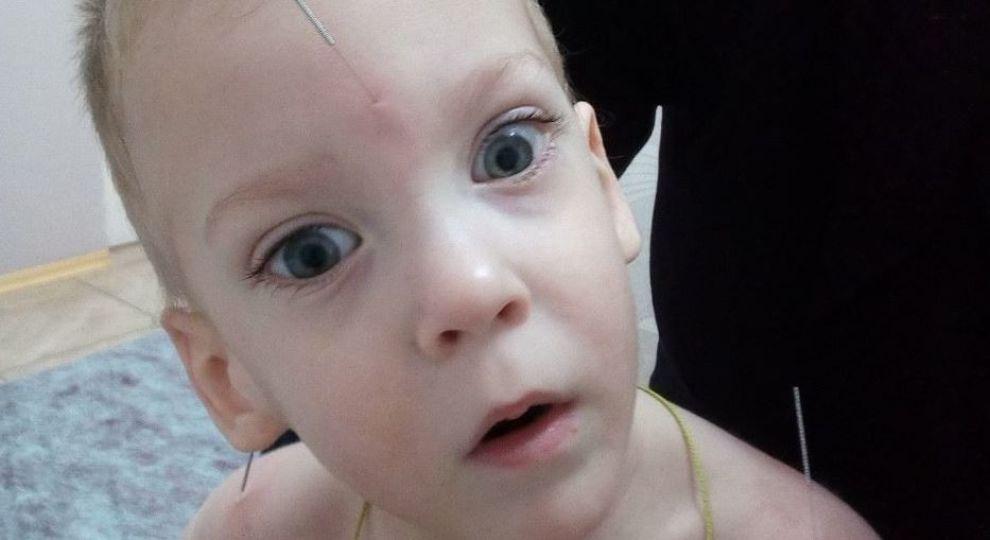 Здійсніть новорічне диво для Єгора: дитині потрібне дороге лікування