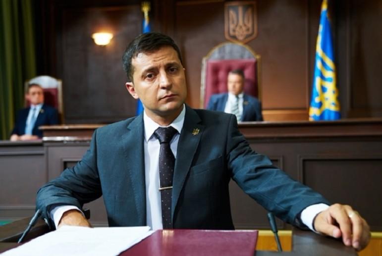 """""""Ну, я думаю так"""": Зеленський прокоментував можливість висунення в президенти"""