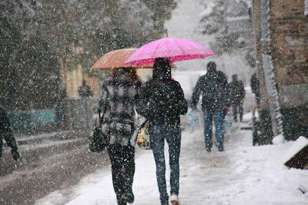 Снігопади і штормовий вітер: Прогноз погоди на 14 грудня