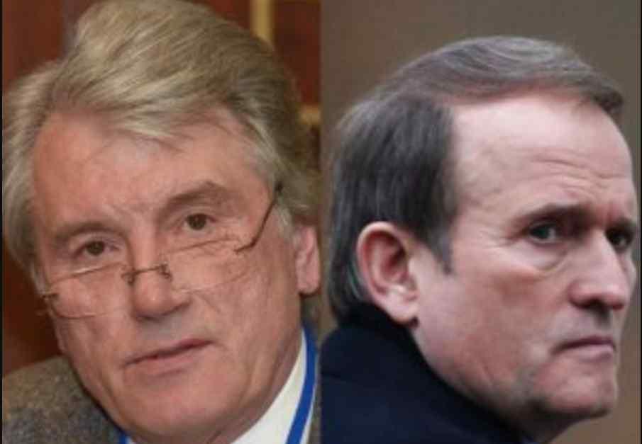 """Накручував проти нього Кучму: Ющенко назвав Медведчука """"босяком"""""""
