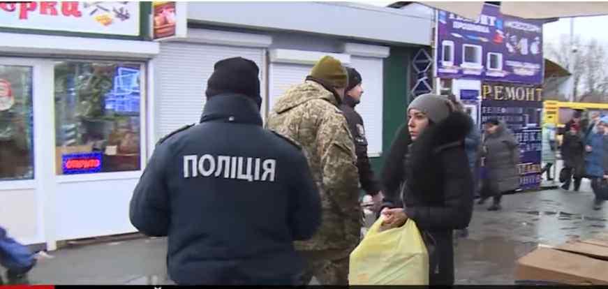 Мобілізація в Києві: показали відео дивних рейдів військових з поліцією
