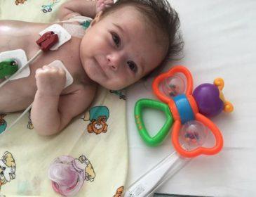 """""""Хвороба прогресує дуже швидко"""": Врятуйте життя крихітці Мілані"""