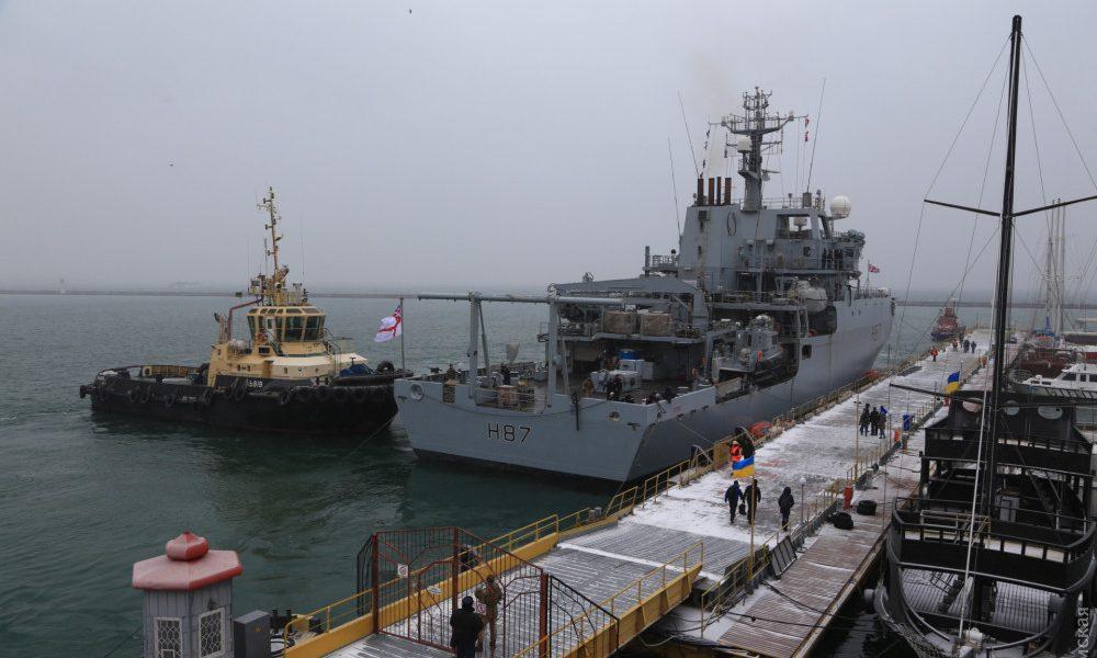 Нарешті: Корабель-розвідник НАТО прибув в Одесу: фото грандіозного судна