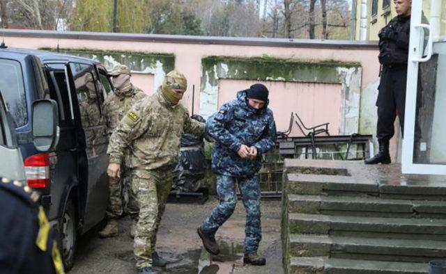 Московський суд вирішив долю полонених українських моряків