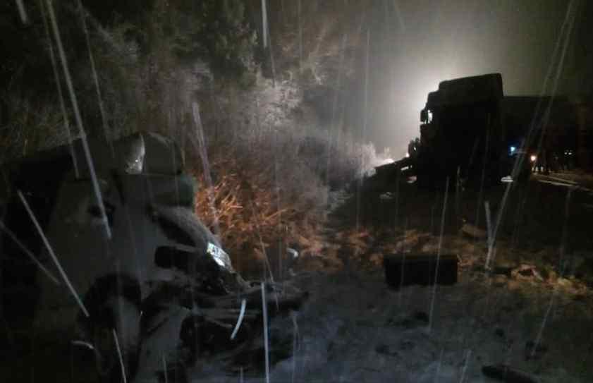 Фатальна ДТП на Львівщині: Фура на швидкості врізалась у два мікроавтобуси, є жертви