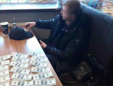У Львівській області на хабарі затримали впливового чиновника