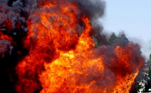 У центрі прогримів потужний вибух, все в вогні: перші подробиці трагедії