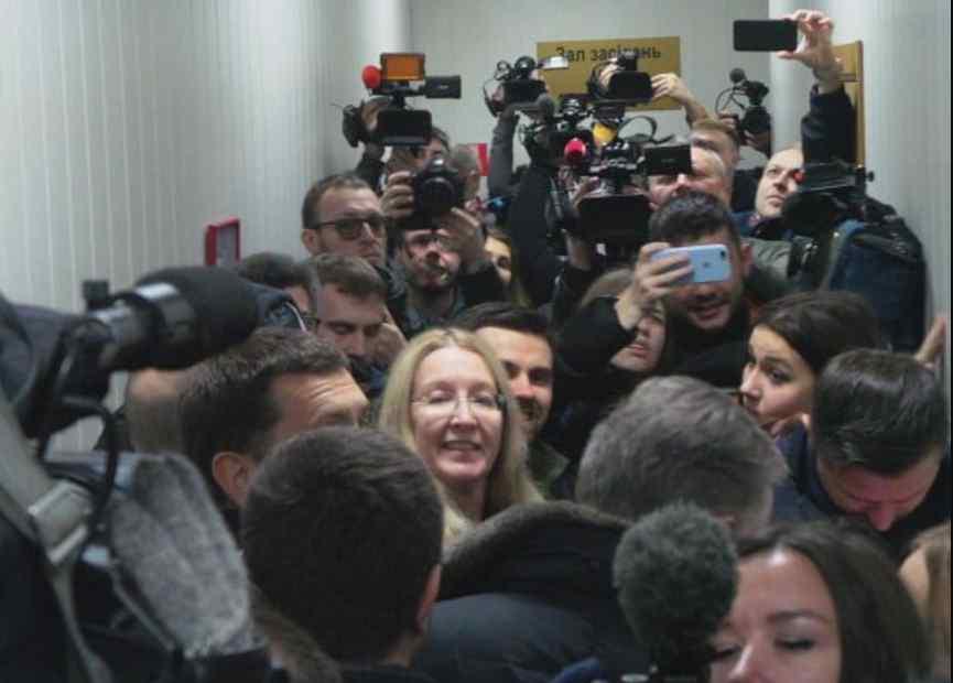 """Суд щодо Супрун: позивача Мосійчука зустріли вигуками """"Ганьба!"""""""