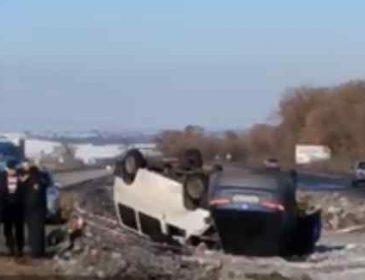 Фатальна ДТП під Харковом: На шаленій швидкості перекинулося чотири автівки, є жертви
